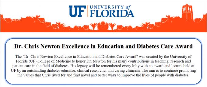 Dr. Newton Award